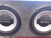"INFINITY 10"" SUBWOOFERS IN BOX"